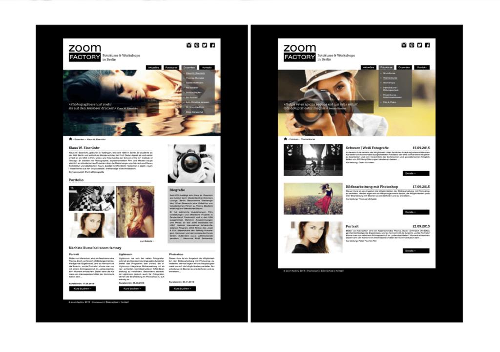 Screendesign von Nicole Hübner