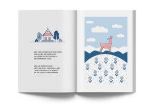 Buchdesign von Bettina Tueri