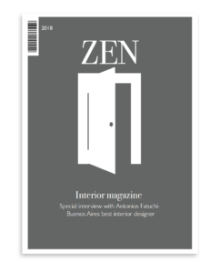 Magazin-Cover von Vanessa Gervala