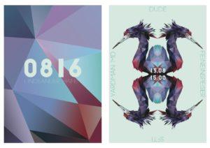 Plakat-Design von Stefanie Wittrisch